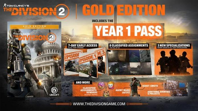 AMD50 - zestaw z grą Tom Clancy's The Division 2 Gold Edition