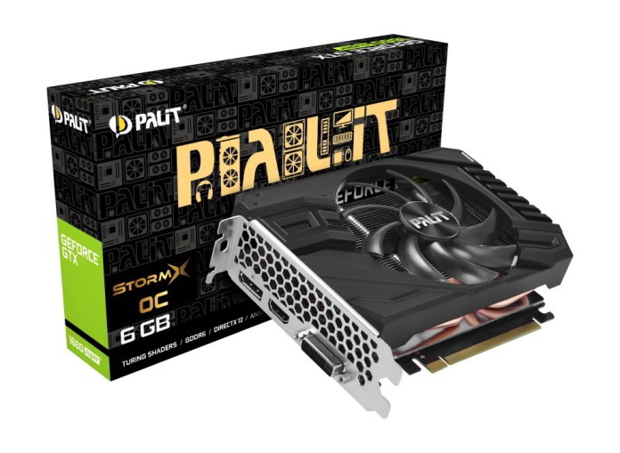 Palit GeForce GTX 1660 SUPER StormX OC