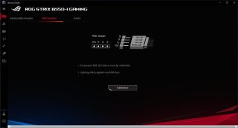 ASUS ROG Strix B550-I Gaming - Armoury Crate - Devices