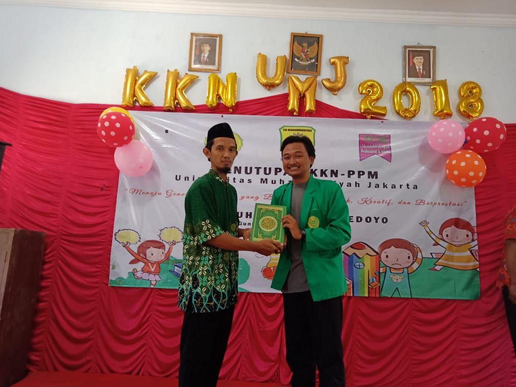 SD Muhammadiyah Bedoyo Pembelajaran bersama Mahasiswa KKN UMJ 2018 03