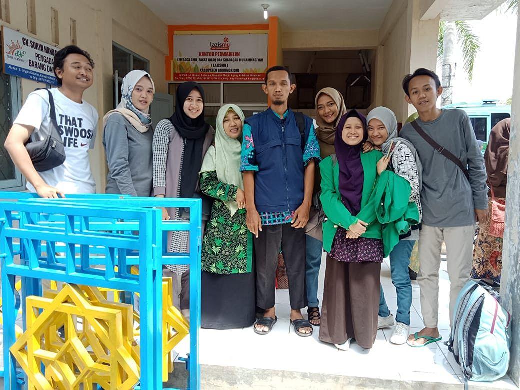 SD Muhammadiyah Bedoyo Pembelajaran bersama Mahasiswa KKN UMJ 2018 05