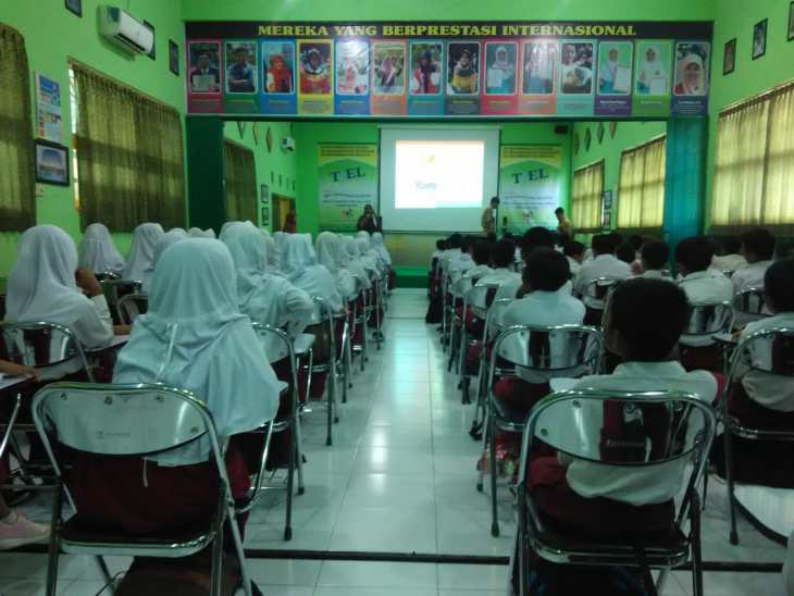Asyiknya SD Muhammadiyah Bedoyo mengikuti Training for Excellent Life (TfEL) for Kids