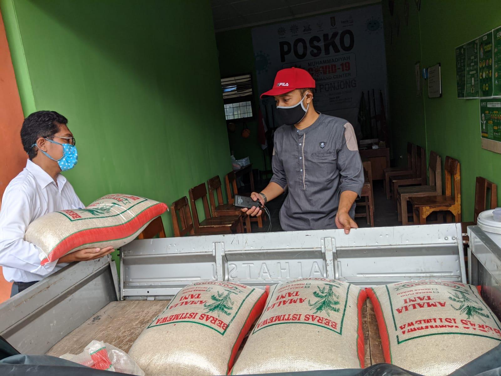 Donasi dari Taman Bunga Kreasi bekerjasama dengan MCCC Cabang Ponjong