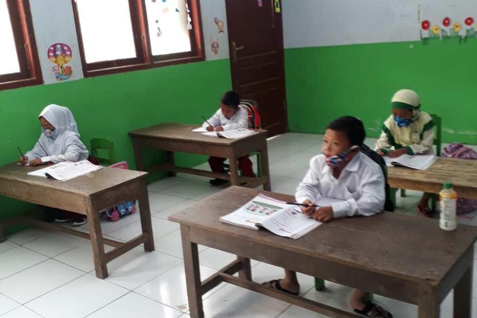 Pembelajaran di SD Muhayo Ponjong