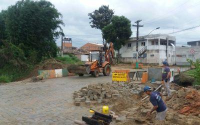 Rua Osvaldo Minella será interditada nessa quarta-feira para obra de ponte