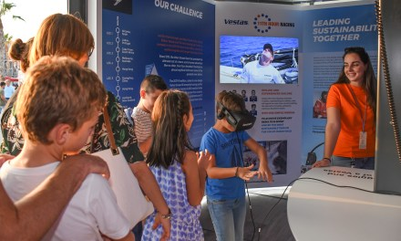 Escolas podem agendar visitas guiadas na Volvo Ocean Race Itajaí