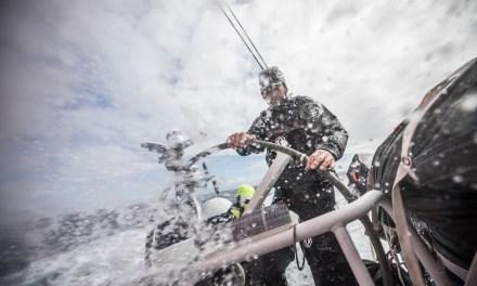 Velejadores enfrentam baixas temperaturas no caminho para Itajaí na Volvo Ocean Race