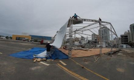 Vila da Regata começa a ser montada para etapa latino-americana da Volvo Ocean Race
