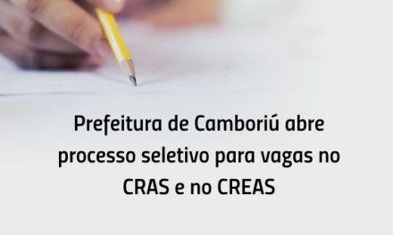 Inscrições de processo seletivo para vagas no CRAS e no CREAS terminam no dia 9 de abril