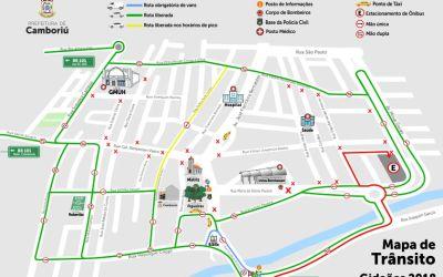 Trânsito em Camboriú será alterado para Congresso dos Gideões
