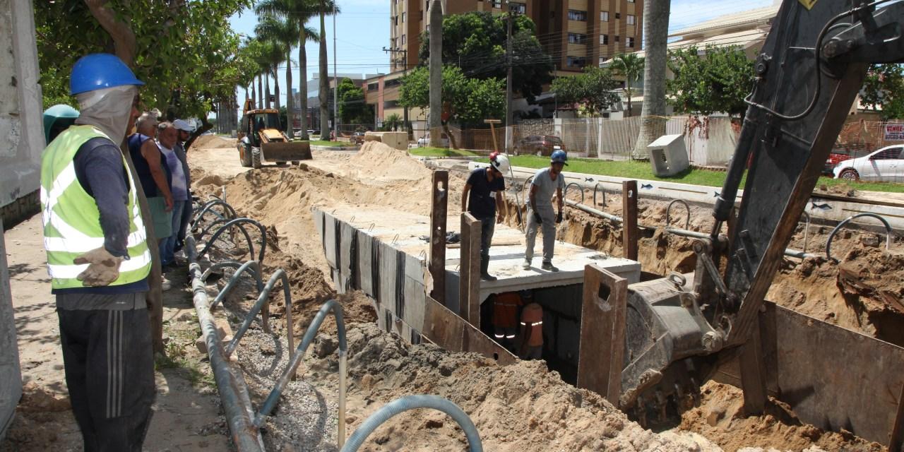 Macrodrenagem da avenida Joca Brandão tem nova etapa contra alagamentos