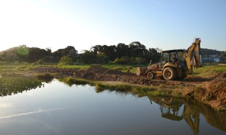 Prefeitura de Camboriú retoma obras do Parque Linear