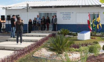 Inaugurada a subprefeitura do bairro Santa Regina