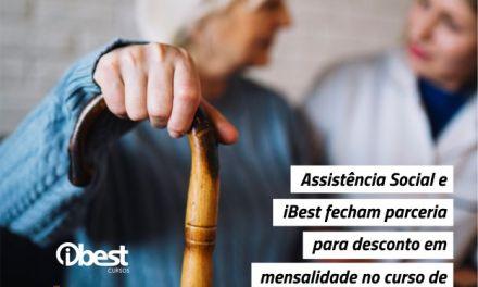 Assistência Social e iBest fecham parceria para desconto no curso de cuidador de idosos