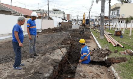 São Vicente recebe R$ 2,5 milhões de investimentos em tratamento de esgoto