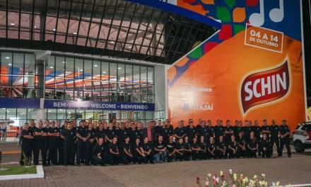 Guarda Municipal integra equipe de segurança da 32ª Marejada