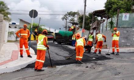 Requalificação das Vias está nos bairros Ariribá e Municípios