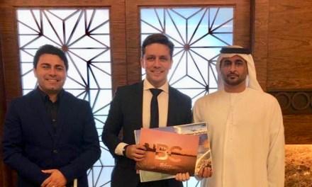 Prefeito convida Sheik de Abu Dhabi para vir a Balneário Camboriú