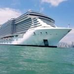 Maior transatlântico a navegar no Brasil está em Balneário Camboriú