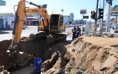 Trânsito liberado no cruzamento das ruas Aleixo Maba e José Pereira Liberato