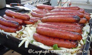 Giant Brats Parker Days Beer Garden