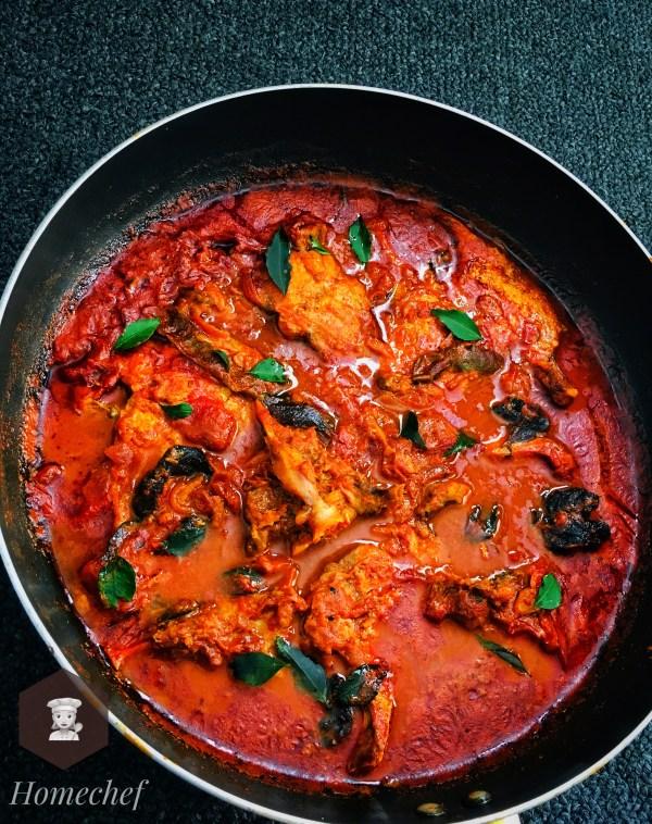 Meen Vattichathu / Fish Gravy Roast