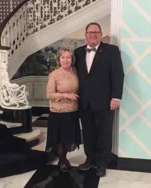 Eddie, Kathy Hale honored for philanthropy by Virginia Foundation for Community College Education
