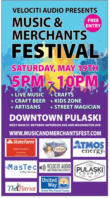 Music & Merchants Festival coming May 19