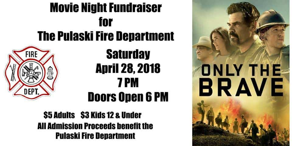 Pulaski Fire Department fundraiser