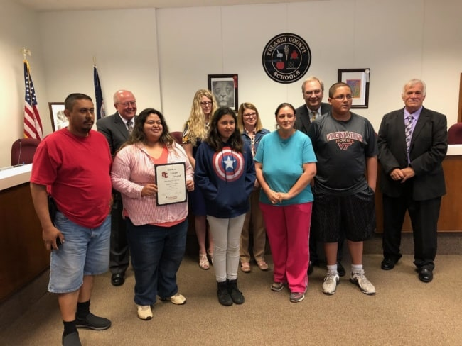 Acencio is Pulaski County High's Senior of the Month
