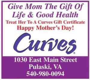 Give a Curves gift certificate for Mother's Day
