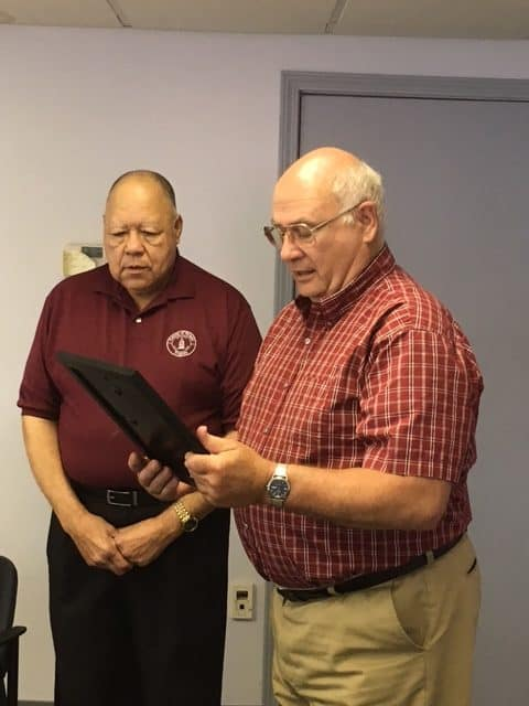 Humphrey, Davis honored by Clean Community Council