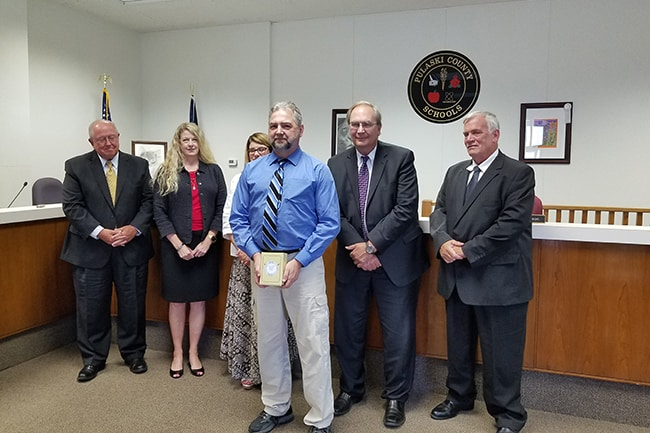 Pulaski County Schools' Employee of the Year named