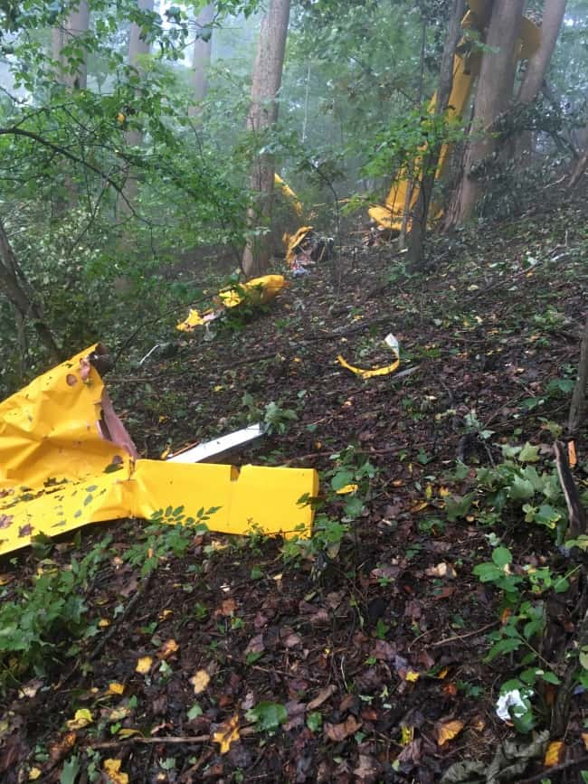 W. Va. man dies in single plane crash in Carroll County