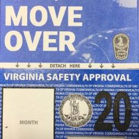Virginia vehicle inspection stickers re-designed