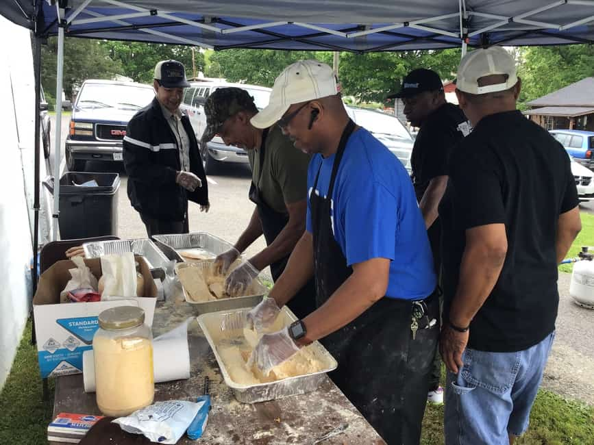 Fish fry Saturday at New Mount Olive UMC in Radford
