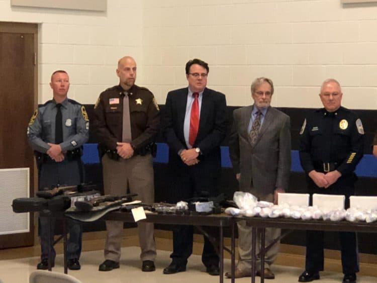 Southwest Virginia Drug Task Forces disrupt multi-county meth network