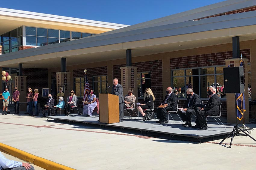 Pulaski County Middle School officially opened