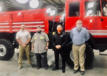 Pulaski County obtains life saving vehicle from U.S. Military