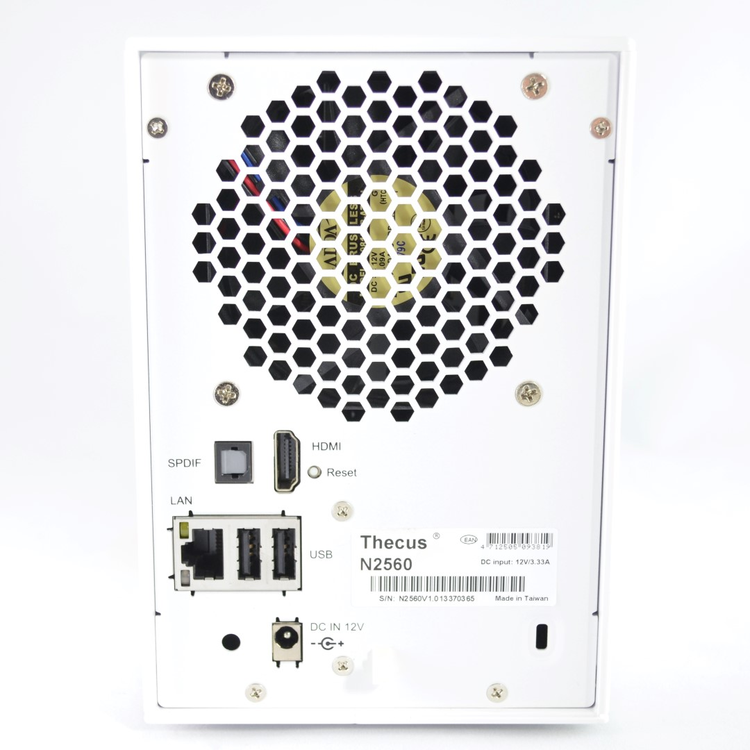 Thecus N Dual Bay Nas Server Review Budget Htpc