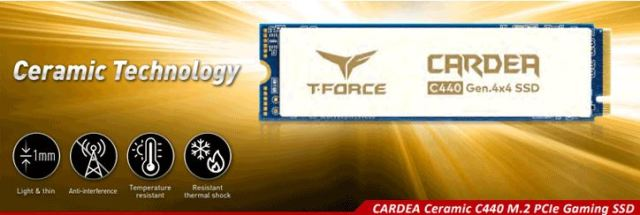 More PCIe 4.0! The TeamGroup Cardea Ceramic C440 2