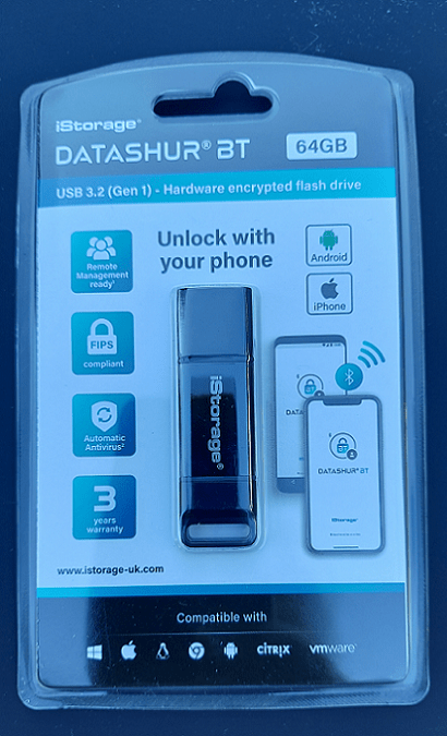 datAshur BT Encrypted USB Drive, For Your GDPR, HIPAA and CCPA Needs 2
