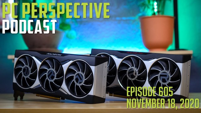 PC Perspective Podcast #605 – RX6800 & 6800XT Review, Intel / AMD History, Microsoft Security Chip + More! 2