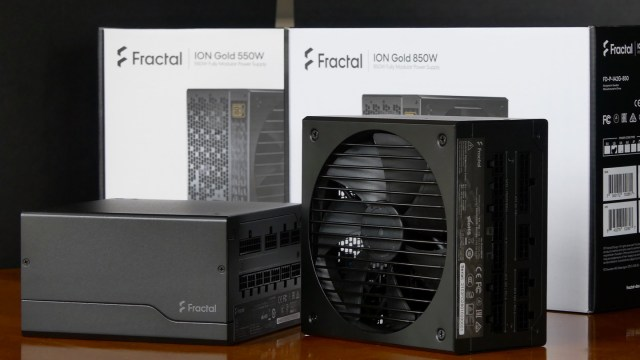 Fractal ION 550 & 850 watt Power Supply Review 2