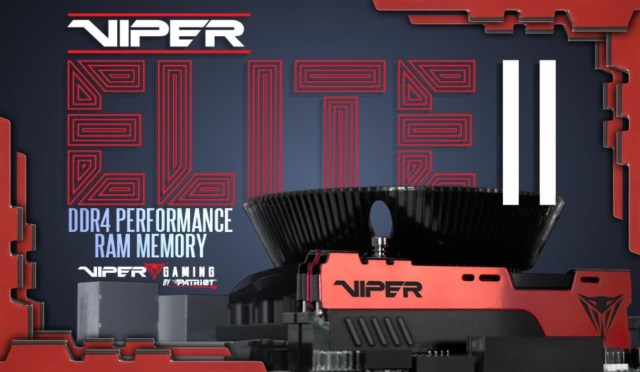 Viper Gaming Elite II Performance DDR4 2