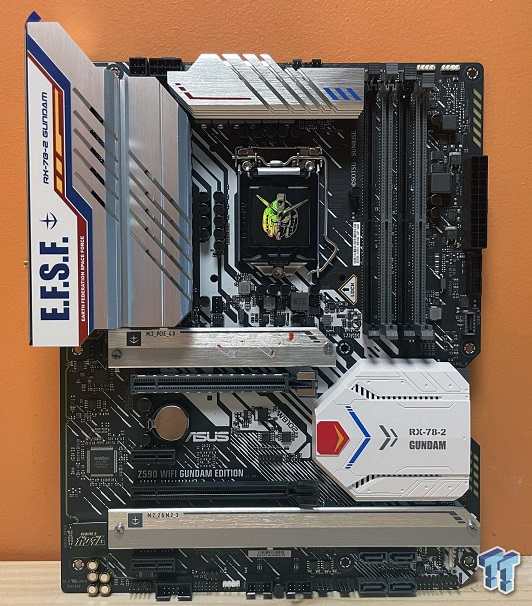 Well Gundam! That's One Seriously Branded ASUS Z590 Board 2