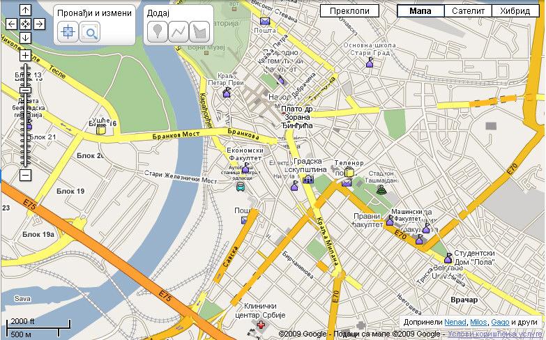 Otvorena Google Mapa Srbije Pc Press