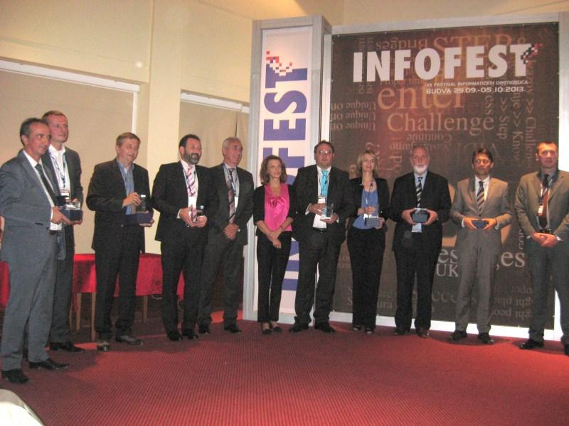 Dobitnici nagrada i priznanja na 20. INFOFEST-u
