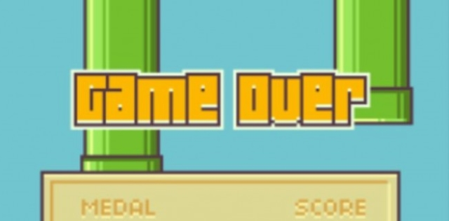 Flappy-Bird-Game-Over