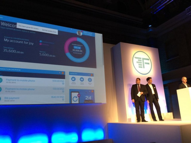 Finovate 2015 (Photo: https://twitter.com/TelenorBanka)